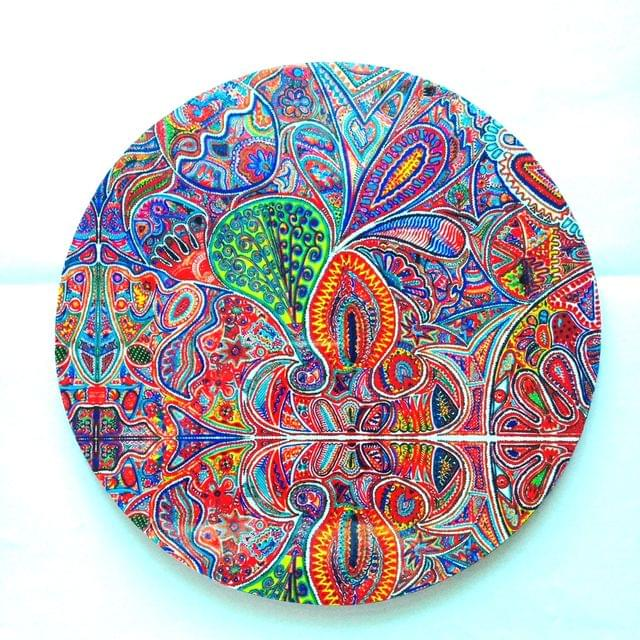 Of What We Are Round Placemat