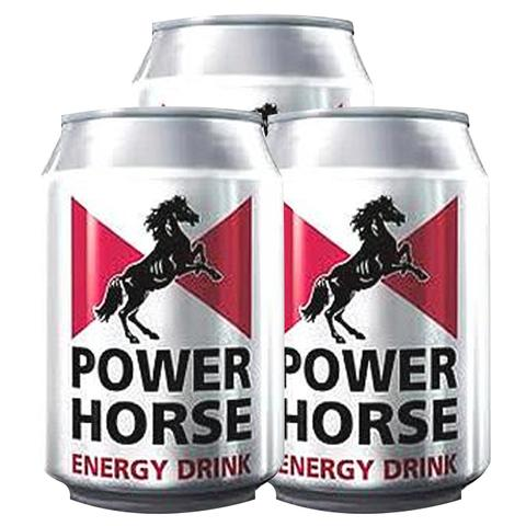 3x Power Horse Energy Drink 330ml