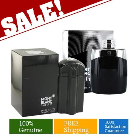 Buy 1 Mont Blanc Emblem 100ml and Get 1 Free