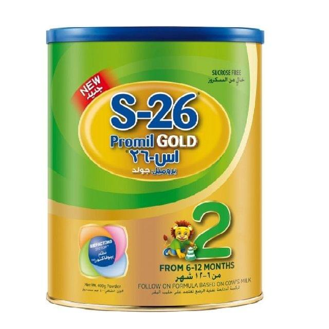 Wyeth S-26 Gold Promil 2 400g