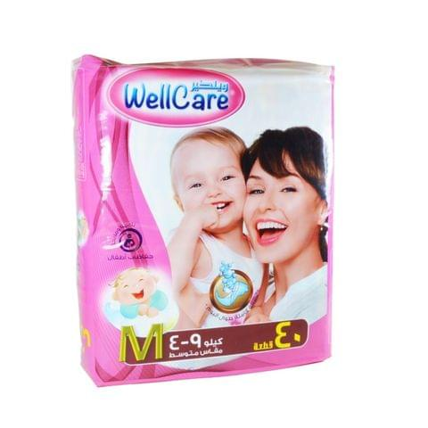 Wellcare Baby Diaper Medium