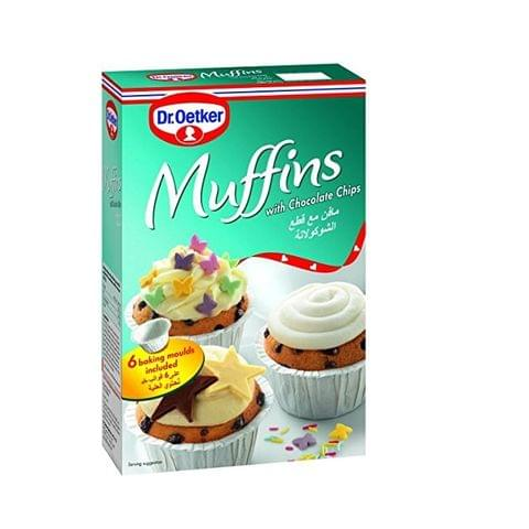 Dr.Oetker Muffin With Chocolate Chips 260g