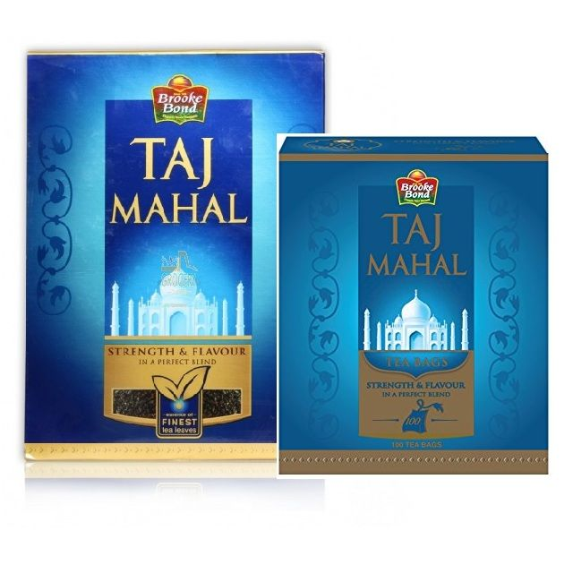 Taj Mahal Tea Jar 400gm+100gm