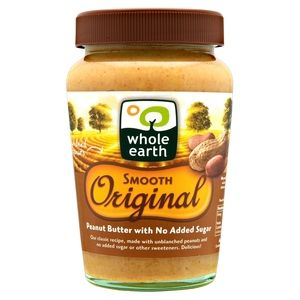 Whole Earth Original Smith Peanut Butter 340g