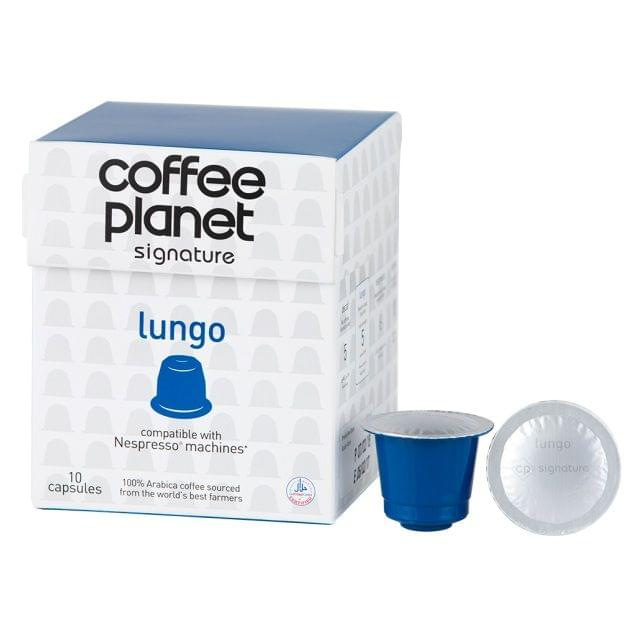Coffee Planet Lungo Coffee Capsules