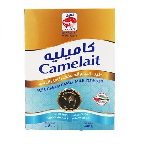 Al Ain Full Cream Camel Milk Powder 24 x 400gm