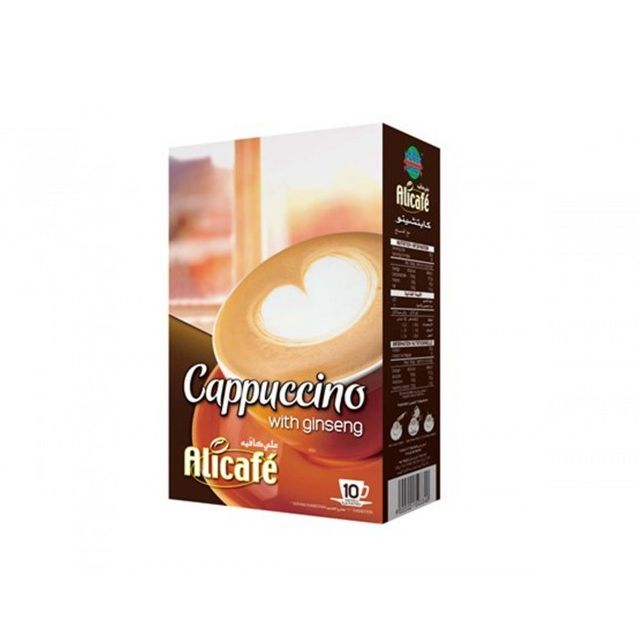 Power Root Ali Cafe Cappuccino With Ginseng  12x20gm