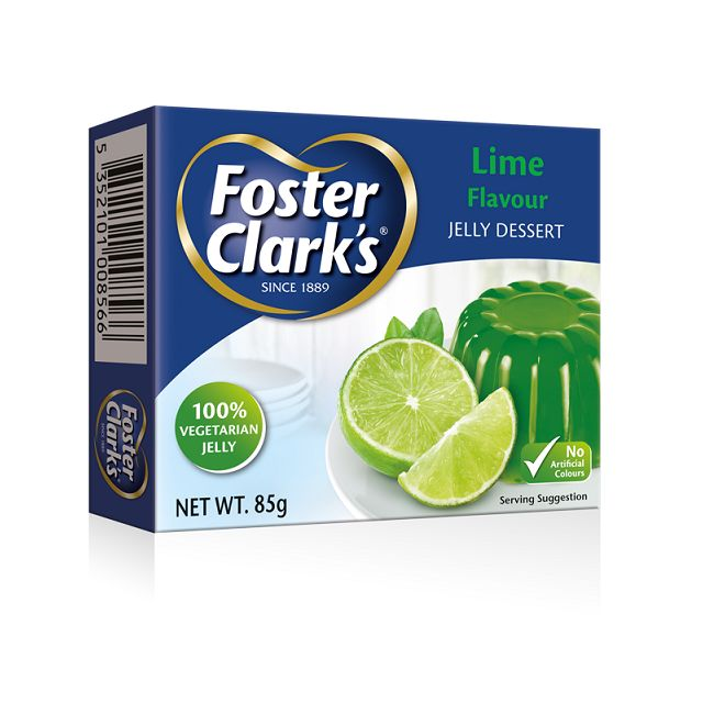 Foster Clark Lime Jelly 12's  85gm