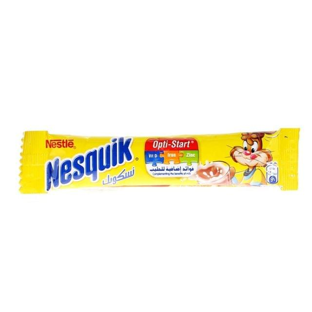 Nesquik Chocolate Powder Optistar14.3gm