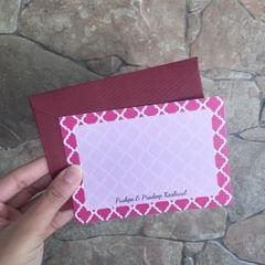 Moroccan Notecard set