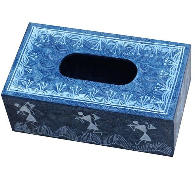 Wooden Tissue Paper Box-Large-WH33