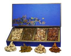 VSD Special Cerulean Bird Box Dry Fruits Gift Pack 350 Gm