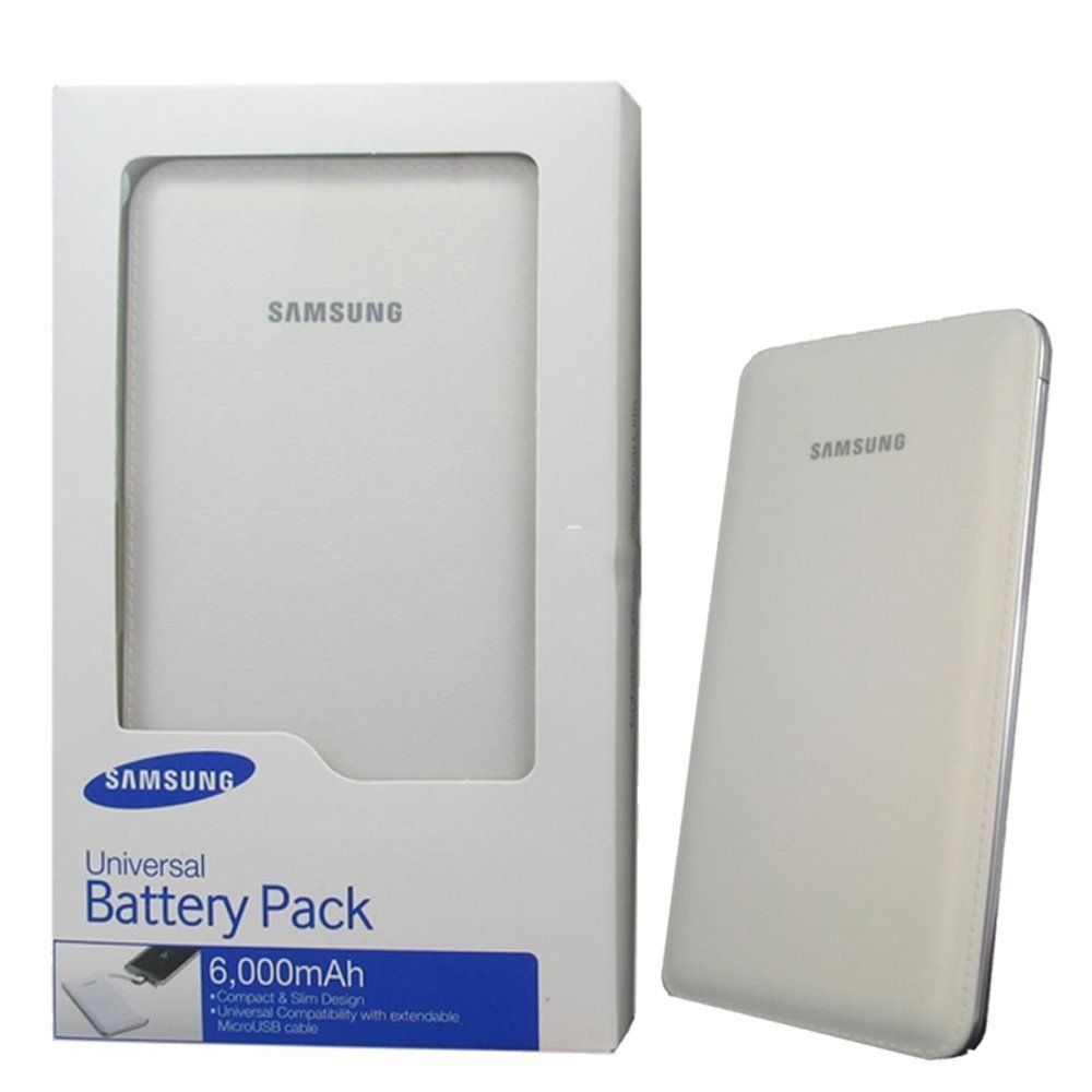 Samsung EB-PG900BWEGIN External Power Bank 6000mAH (White)
