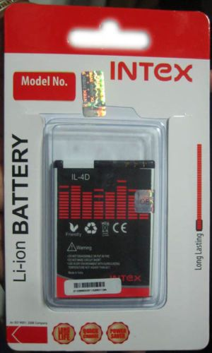 Intex IL-4D 1000mAh Li-ion Mobile Battery For Nokia N8, N97 Mini