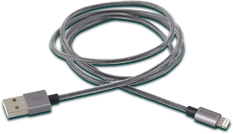 Intex Charge Cable ( LT-MT-1M) Grey