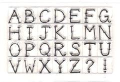 Clear Stamps Big Alphabet's