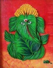 Ready Quilled Ganesha I