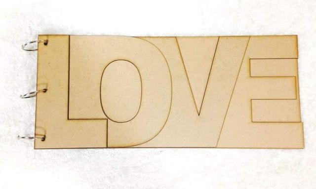 Wooden Album LOVE