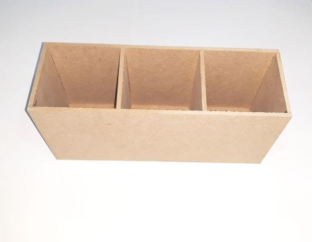 Wooden Stationary Stand Or Cutlery Stand