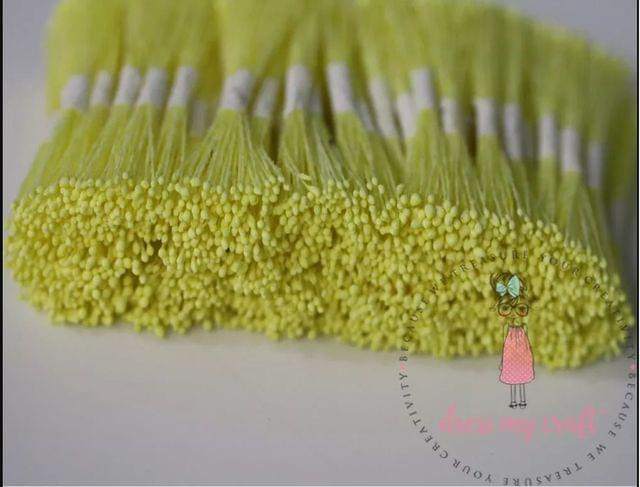 Micro Pointed Thread Pollen - Light Yellow