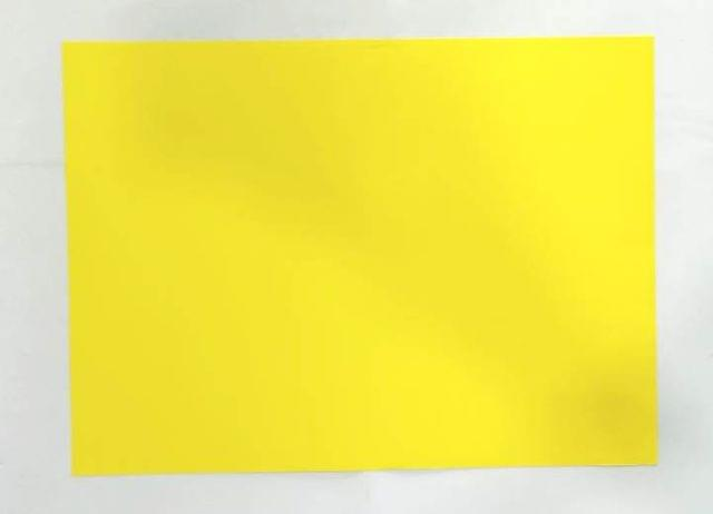 1/4 Tinted Drawing Sheet pack of 100 sheets Yellow in color