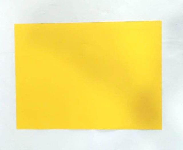 1/4 Tinted Drawing Sheet pack of 100 sheets Chrome Yellow in color