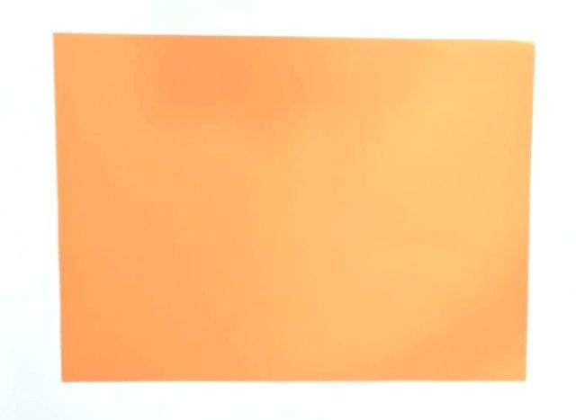 1/4 Tinted Drawing Sheet pack of 100 sheets Orange in color