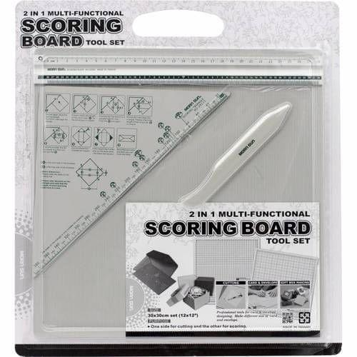 Score Scoring Board For Envelope Gift Box Making 12 by 12 In Size