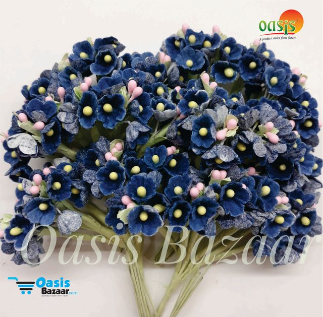 Pastel Mulberry Fillers pack of  12 Bunches 05