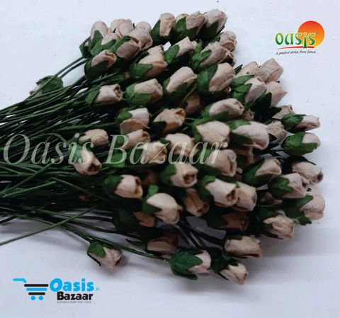 Micro Mini Rose Buds Pack of 100 buds 5 mm in Size 06