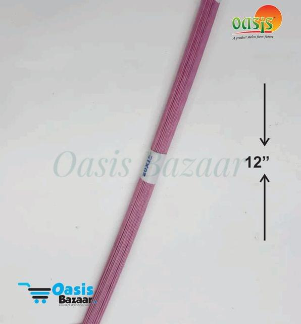 Floral Wires pack of 100 pcs Pink in Color
