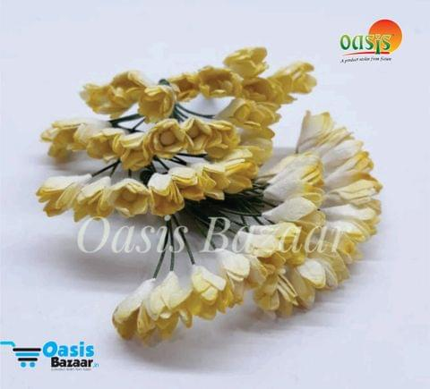 Thai Paper Flowers pack of 10 bunches. 10mm in Size. 02