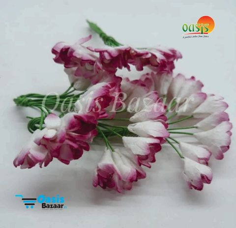 Thai Paper Flowers pack of 10 bunches. 10mm in Size. 03
