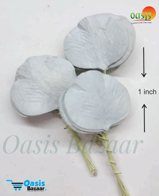 Paper Leaves Pack of 100 Leaves 1inch in size 16