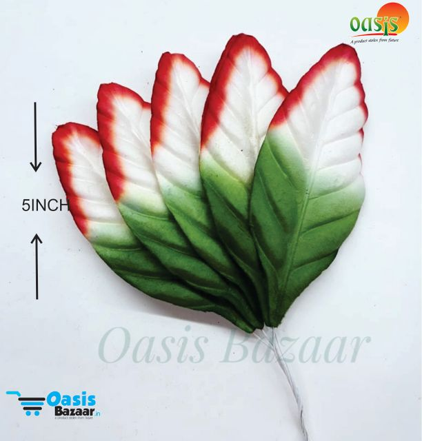 Color Shaded Leaves Pack of 10 Leaves 5 inch in size 02