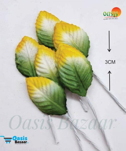 Color Shaded Leaves Pack of 50 Leaves 3 cm in size 03