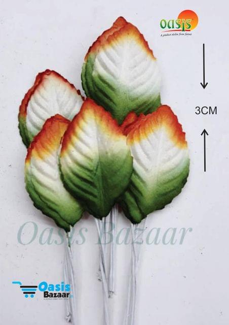 Color Shaded Leaves Pack of 50 Leaves 3 cm in size 05