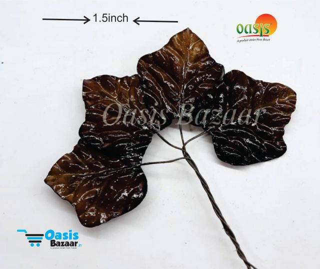 Handmade Vinear Leaves Pack of 20 Leaves Small