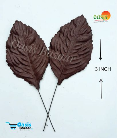 Handmade Mulberry leaves pack of 25 Embossed Leaves 23