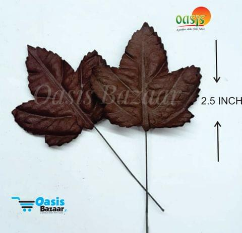 Handmade Mulberry leaves pack of 25 Embossed Leaves 24