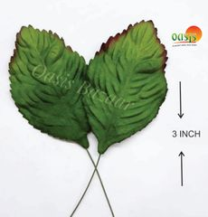 Handmade Mulberry leaves pack of 25 Embossed Leaves 27