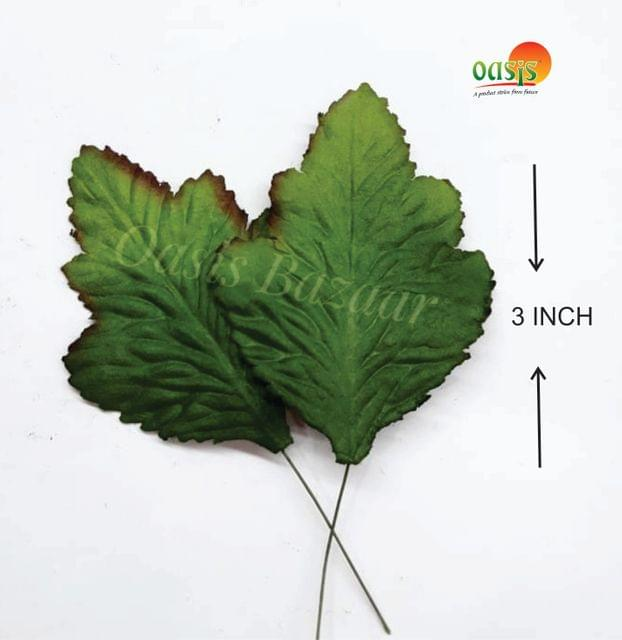 Handmade Mulberry leaves pack of 25 Embossed Leaves 28
