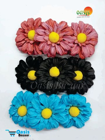 Sun Flowers Pack of 9 Flowers. mix colors 23