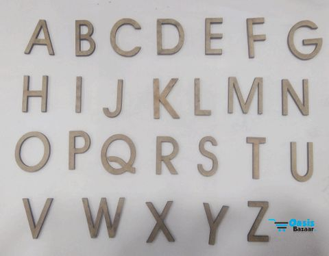 WE lettering Alphabets.