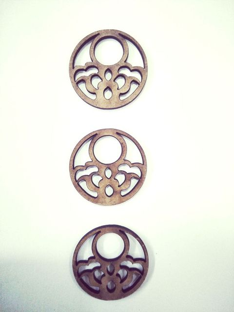 WE Small Circle 1 inches in size pack of 03.