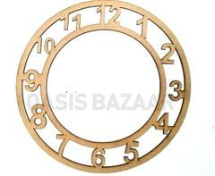 WE Clock 12 X 12 Inches in Size.