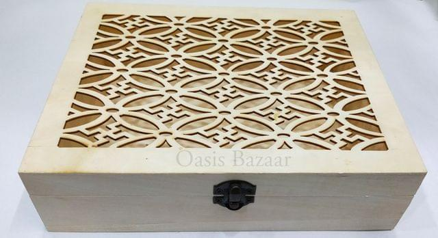 Square Shape Wooden Gift Box -03