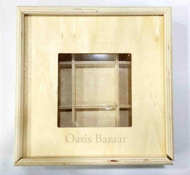 Wooden Gift Box for Dry Fruits,Chocolates Small -04