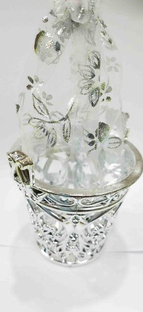 Mini Bucket for Gift Silver -06