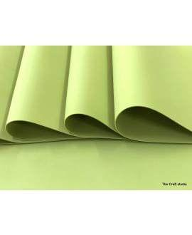 Foam Sheets Olive Green in Color.